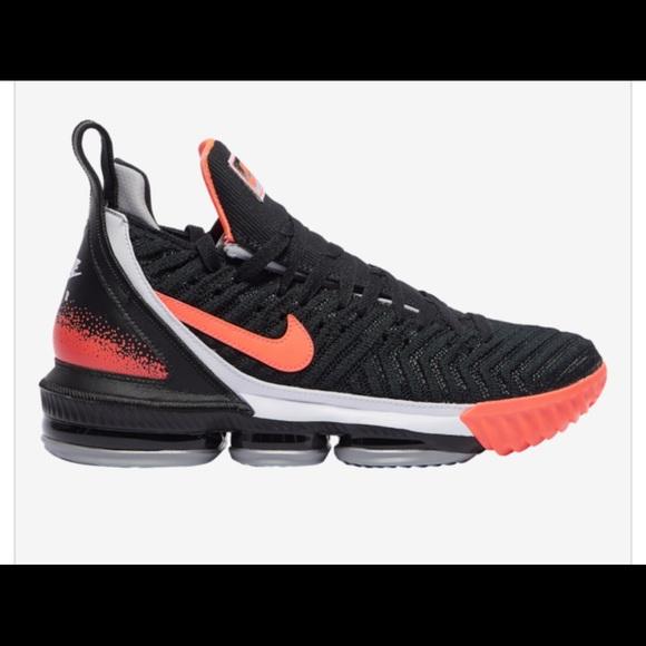 Nike Other - Nike Lebron 16 Lava Tech size 10